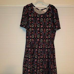 LuLaRoe Amelia dress Size 3x